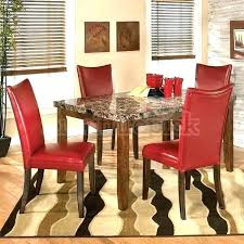 Modern Red Dining Chairs Contemporary Leather Parsons Chair Room