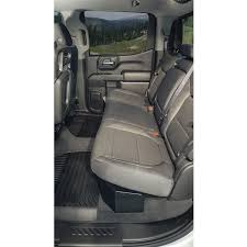 100 Pickup Truck Seat Covers Under Rear Lockbox GM Crew Cab 2019 Tuffy