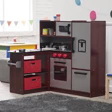 Kidkraft Grand Gourmet Corner Kitchen Play Set by Guidecraft Master Chef Corner Play Kitchen Your Aspiring Chef
