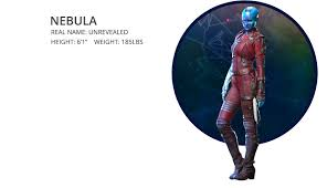 Nebula Was Genetically Modified Using Cybernetics In An Underhanded Enemy Effort To Achieve Victory At Any Cost After Being Defeated By The Guardians