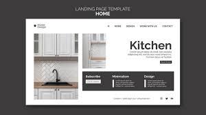 Home Interior Work Landing Page Für Home Interior Design Mit Möbeln Premium