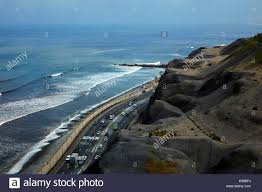 100 Pacific Road Ocean Beach Road And Cliffs Miraflores Waterfront Lima