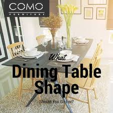 What Dining Table Shape Should You Go For