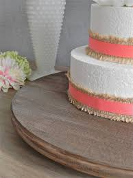 20 Wedding Rustic Cake Stand Cupcake Round By EIsabellaDesigns