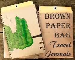 Brown Paper Bag Travel Journals 1 Of