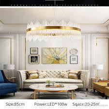 großhandel moderne deckenleuchte drehbar verstellbar bronze gold hängeleuchte le für esszimmer wohnzimmer foyer honpus 479 97 auf