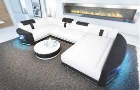 canape disign canapé atlantis xl ac éclairage led nativo mobilier design
