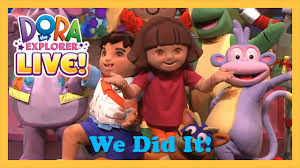 100 Dora High Chair We Did It The Explorer Live 2013 YouTube