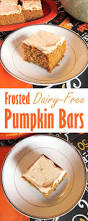 Pumpkin Cake Paula Deen by Frosted Pumpkin Bars With Spiced Buttercream Dairy Free Recipe