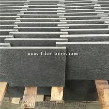 new jet black granite flamed paver cheap black new