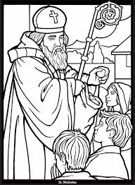 Saints Stained Glass Coloring Book Dover Publications