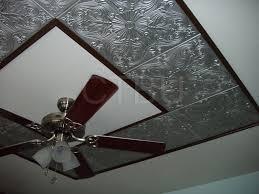 styrofoam ceiling tiles installed