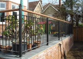 Glasson Metalworks Gates Gallery   Steel Fabricators   01707 ... 24m Decking Handrail Nationwide Delivery 25 Best Powder Coated Metal Fencing Images On Pinterest Wrought Iron Handrails How High Is A Bar Top The Best Bars With View Time Out Sky Awesome Cantilevered Deck And Nautical Railing House Home Interior Stair Railing Or Other Kitchen Modern Garden Ideas Deck Design To Get The Railings Archives Page 6 Of 7 East Coast Fence Exterior Products I Love Balcony Viva Selfwatering Planter Attractive Home Which Designs By Fencesus Also Face Mount Balcony Alinum Railings 4 Cityscape