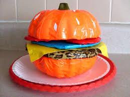 Vomiting Pumpkin Dip by Pumpkin Burger A Pumpkin Construction On Cut Out Keep