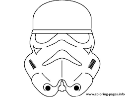 Star Wars Masks Coloring Pages