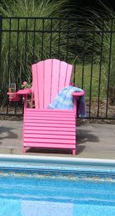 outer banks deluxe oversized poly lumber folding adirondack chair