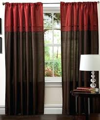 Living Room Curtain Ideas Brown Furniture by Brown And Red Curtains Innovative Ideas Brown And Red Curtains