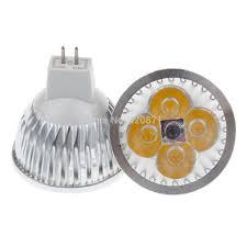 4x1 mr16 led spotlight bulb 12v gu5 3 warm cool white energy