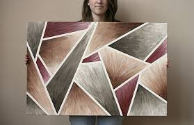 Create A Pleasing Piece Of Abstract Art On The Cheap