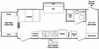 2011 Coleman Travel Trailer Floor Plans by Full Specs For 2011 Keystone Outback 250rs Rvs Rvusa Com