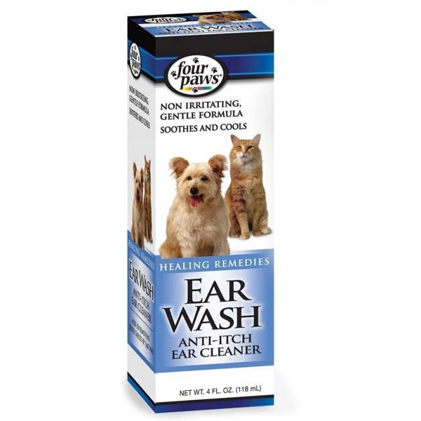 Four Paws Dog Ear Wash - 4oz