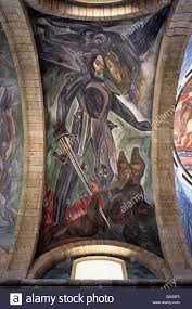 mural by josé clemente orozco at the instituto cultural cabañas in