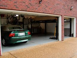 2 Post Car Lift Low Ceiling by Home Garage Auto Lift The Mustang Source Ford Mustang Forums