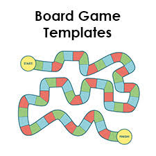 Make Your Own Board Game By Downloading A Free Blank Template Great For