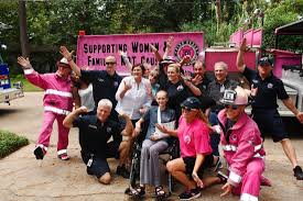 100 Pink Fire Trucks Fire Trucks Driving Across Nation Raising Funds For Those In