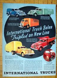 1937 International Harvester Truck Line-5 Models-Original 13.5 ...