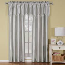 Vertical Striped Curtains Panels by Silver Soho Window Treatment Soho Window And Curtain Ideas