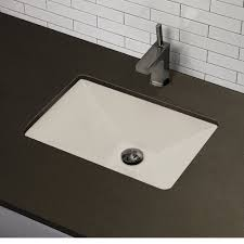 Kohler Verticyl Rectangular Undermount Sink by Decolav 1409 Cwh Amabella Classically Redefined Rectangular