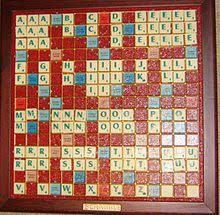 Scrabble letter distributions