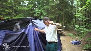 tente de cing 3 chambres comment monter une tente