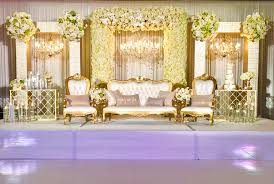 Wedding Wall Decor Elegant Stage Amp