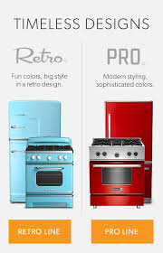Big Chills Professional Grade And Retro Styled Kitchen Appliances Give You Modern Performance With Timeless Design Create Your Dream Vintage Look
