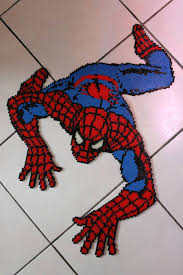 Halloween Perler Bead Projects by Sandylandya Outlook Es Spiderman Hama Beads Bügelperlen By