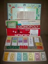 Image Is Loading Vintage 1935 1961 MONOPOLY Board Game Parker Brothers