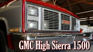 1985 GMC High Sierra 1500 - Nicely Maintained Square Body - YouTube Car Brochures 1985 Chevrolet And Gmc Truck Chevy Over The Top Customs Racing Restored Dually Youtube K15 Shortbed Cummins Cversion Diesel Power Magazine For Sale Classiccarscom Cc10624 Gmc Trucks Lifted Entertaing Sierra K1500 Review1985 Classicbody Off Restorationnew Fuel 1500 Pickup K73 Kissimmee 2013 Vintage Outstanding Scottsdale C1500 Pickup Truck Item 7320 Sold July 1979blackphantom Regular Cab Specs Photos