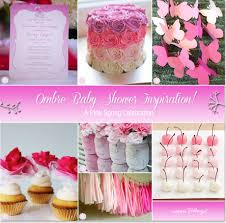 Pink Ombre Baby Shower Ideas And Inspiration