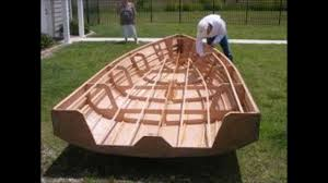 rowing boat plans free how to make wooden boat model youtube