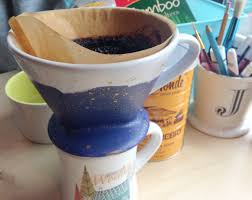 Paint A Ceramic Pour Over Coffee Maker For Your Desk