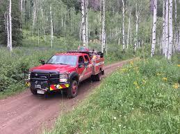 100 Aspen Truck Brush In Stand BFX Fire Apparatus