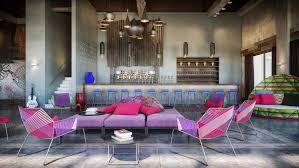 100 W Resort Vieques Colorful Exuberant Interior Design Inspiration From Retreat