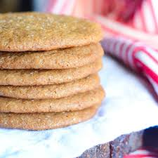 Soft Ginger Molasses Cookies W Fresh Ginger Lucis Morsels