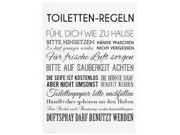 dekoration 42x30cm shabby holzschild toiletten regeln