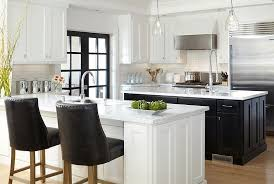 View In Gallery Fabulous And Ergonomic Black White Kitchen