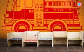 100 Fire Truck Wallpaper Kids Wallpaper Mural XXL Fire Truck