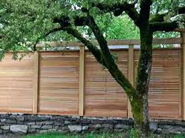 Simple Fence Ideas Back To Outdoor Decorations Garden