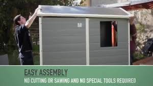 Keter Stronghold Shed Assembly by Keter Manor 6 X 8 Ft Storage Shed Hayneedle